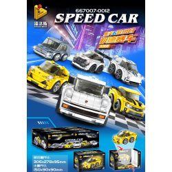 PanlosBrick 667012 Panlos Brick 667012 Xếp hình kiểu Lego MINI RACING PACEMAKER Chevrolet Camaro Accumulatory Car Chevrolet Kamiro Chevrolet Kamiro.
