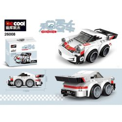 PanlosBrick 667009 Panlos Brick 667009 REBRICKABLE MOC-36534 36534 MOC36534 Xếp hình kiểu Lego MINI RACING PACEMAKER 75895 1974 Porsche 911 Turbo 3.0 Chibi Alternate Accumulatory Car 127 khối