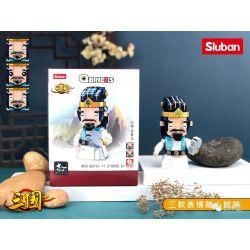SLUBAN M38-B0761-11 B0761-11 0761-11 M38B0761-11 38-B0761-11 Xếp hình kiểu Lego QBricks Three Kingdoms Q Hui Zhuge Liang Q Xiong Gia Cát Lượng 215 khối