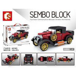 SEMBO 607405 Xếp hình kiểu Lego RACERS Famous Car Rolls-Royce Silver Ghost Doctors Coupe 1920 Classic Cars Rolls Royce White 1920 330 khối