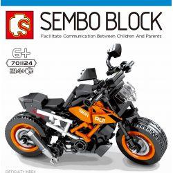SEMBO 701124 Xếp hình kiểu Lego MOTO KTM 390 Duke Enjoy The Ride KTMR2R 390 By Ktmr2r 390 Bởi. 214 khối