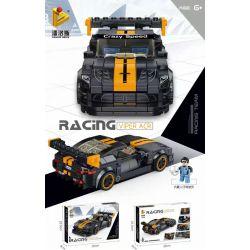 PanlosBrick 666026 Panlos Brick 666026 Xếp hình kiểu Lego SPEED CHAMPIONS Dodge Viper ACR Dodge Viper Acr. 370 khối