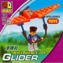 XQL 102 ZEPHYR KNIGHT 1003 Xếp hình kiểu Lego TOWN Hang-Glider Hang Glider Extreme Sports Air Glider Hang-Glider Hang Glider gồm 2 hộp nhỏ 19 khối