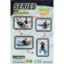 ZEPHYR KNIGHT 0504 Xếp hình kiểu Lego ALPHA TEAM Chill Speeder Alpha Troad Polar Task Polar Speed Chill Speeder. 58 khối