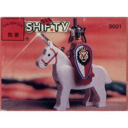 Enlighten 9601 Qman 9601 Xếp hình kiểu Lego CASTLE Castle Royal Knight Royal King Vua Hoàng Gia 10 khối