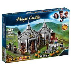 Bela 11343 Lari 11343 BLANK 80024 Xếp hình kiểu Lego HARRY POTTER Hagrid's Hut Buckbeak's Rescue Harry Potter Haigang Hut - Camp Save Bakki Hagrid's Hut Buckbeak's Rescue 496 khối