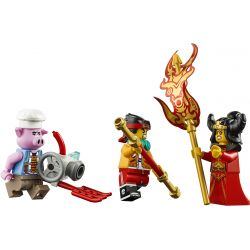 LARI 11543 SNAKE 32109 Xếp hình kiểu Lego MONKIE KID Demon Bull King Wukong Xia Niu Deyu King Radio Armor Vua Bò Mộng 1051 khối
