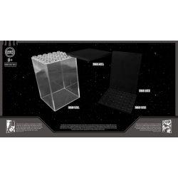 LEZHAN 1039 Xếp hình kiểu Lego COLLECTABLE MINIFIGURES 积木小方盒 Human Dust-proof Transparent Cover Display Box Hộp Màn Hình Trong Suốt Chống Bụi Minifigure 2 khối
