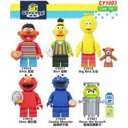 BLANK 6622 CHENGYI CY1003 1003 Xếp hình kiểu Lego IDEAS Grand Piano Sesame Street Dương Cầm Loại Lớn 3662 khối