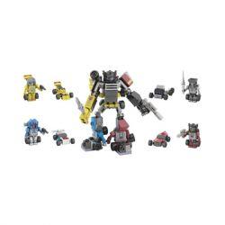 KRE-O A7308 7308 Xếp hình kiểu Lego Menasor Flying Tiger Hổ Bay 90 khối