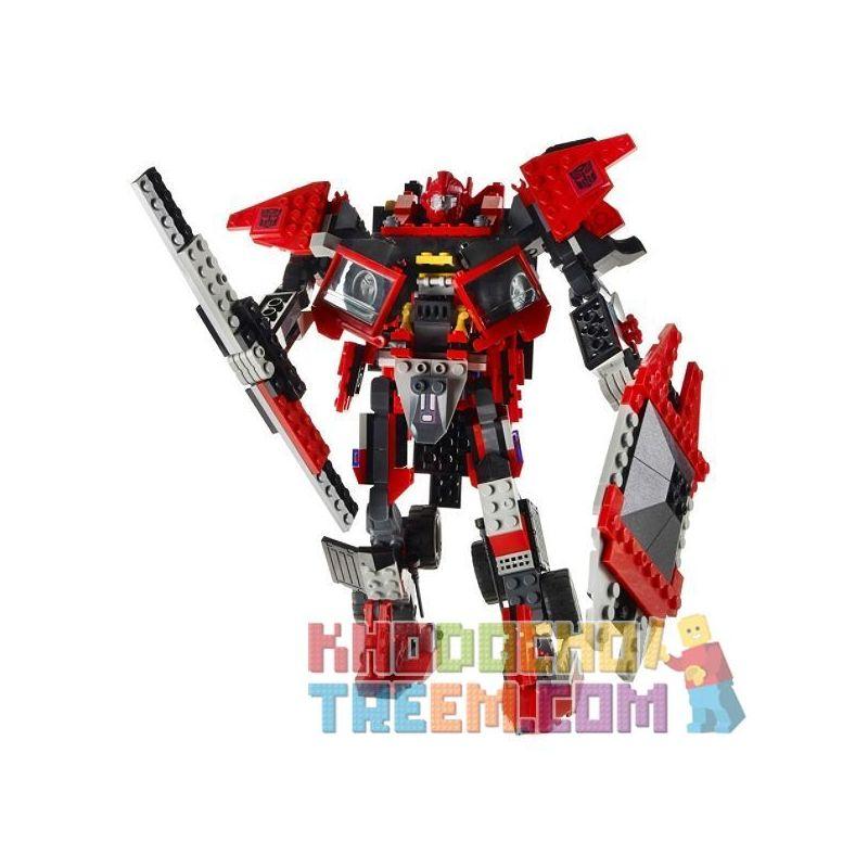 KRE-O 30687 Xếp hình kiểu Lego Sentinel Prime Royal Enemy Bảo Vệ Chống Lại Kẻ Thù Tự Nhiên 386 khối