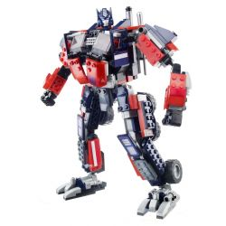 KRE-O 30689 Xếp hình kiểu Lego Optimus Prime Optimus. 542 khối