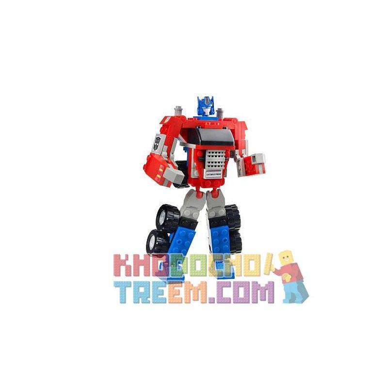 KRE-O 31143 Xếp hình kiểu Lego BASIC Optimus Prime (Basic) Optimus (foundation) Optimus Prime (Cơ Bản) 90 khối