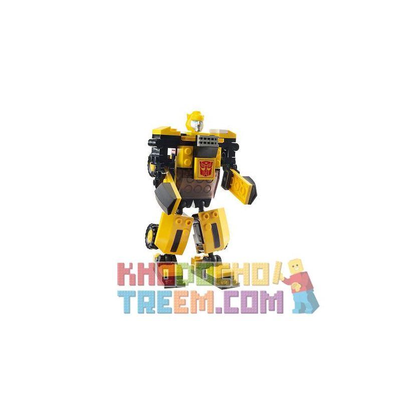 KRE-O 31144 Xếp hình kiểu Lego BASIC Bumblebee (Basic) Bumblebee (foundation) Bumblebee (Cơ Bản) 75 khối