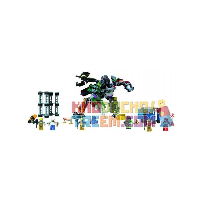 KRE-O 36951 Xếp hình kiểu Lego Destruction Site Devastator Vigorous God Destroyed The Scene Cảnh Hủy Diệt Hercules 560 khối