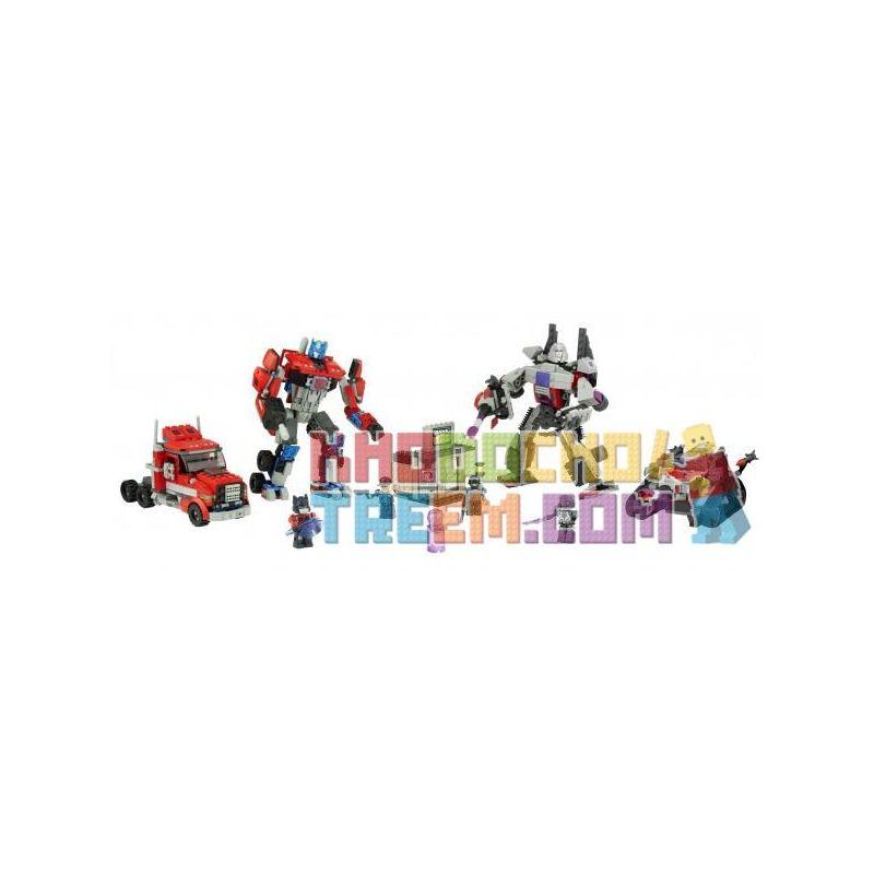 KRE-O 98812 Xếp hình kiểu Lego Battle For Energon Energy Crystal Battle Trận Chiến Của Những Viên Pha Lê Sức Mạnh 379 khối