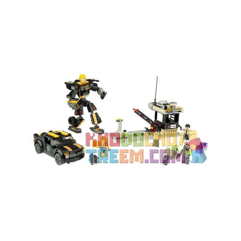 KRE-O 98814 Xếp hình kiểu Lego Stealth Bumblebee Sneak Quay Lén Hornet 257 khối