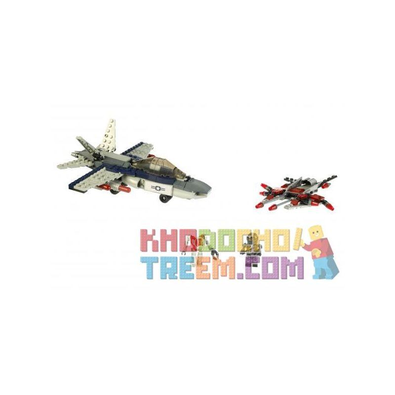 KRE-O 38975 Xếp hình kiểu Lego MILITARY ARMY Air Assault The Battleship Aerial Attack Tấn Công Trên Không 225 khối