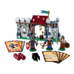 KRE-O A6740 6740 Xếp hình kiểu Lego GAMES Battle Outpost Dragon And Dungeon Fighting Sentry Tiền đồn Chiến đấu 176 khối