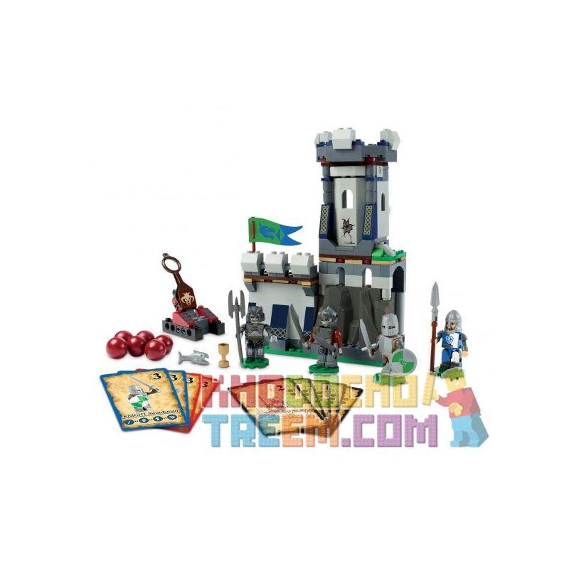 KRE-O A6742 6742 Xếp hình kiểu Lego GAMES Fortress Tower Dragon And Dungeon Defensive Tower Tháp Phòng Thủ 200 khối