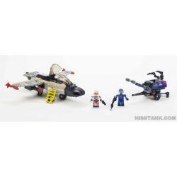 KRE-O A4451 4451 Xếp hình kiểu Lego Ghoststriker X-16 Special Forces Ghost Hobby X-16 Ghost Sở Thích X-16 207 khối