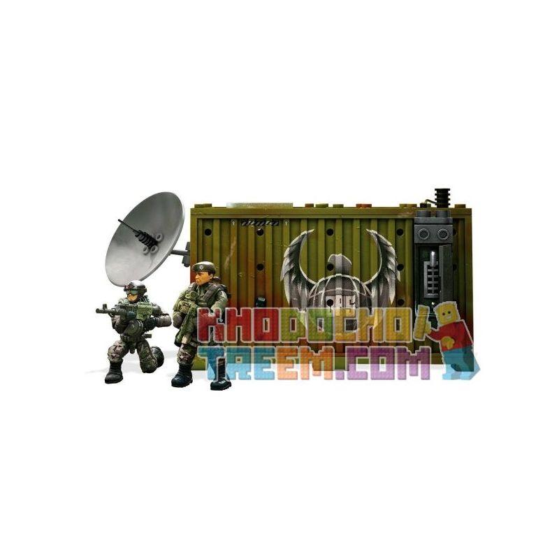 MEGA BLOKS FMG11 Xếp hình kiểu Lego Jungle SatCom Armory Call Of Duty Jungle Satellite Communications Kho Vũ Khí Truyền Thông Vệ Tinh Jungle 82 khối