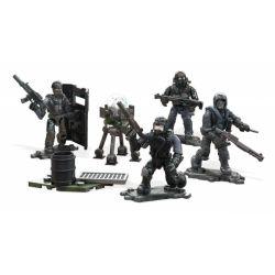 MEGA BLOKS FMG14 Xếp hình kiểu Lego Urban Strike Squad Call Of Duty City Assault Team Đội Xung Kích Thành Phố 119 khối