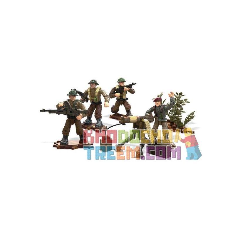 MEGA BLOKS FMG15 Xếp hình kiểu Lego Legends Allied Soldiers Call Of Duty Heroes Allied Soldiers Người Lính đồng Minh Anh Hùng 109 khối