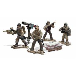 MEGA BLOKS FPY19 Xếp hình kiểu Lego Desert Air Defenders Call Of Duty Desert Air Defense Soldier Phòng Không Sa Mạc 127 khối