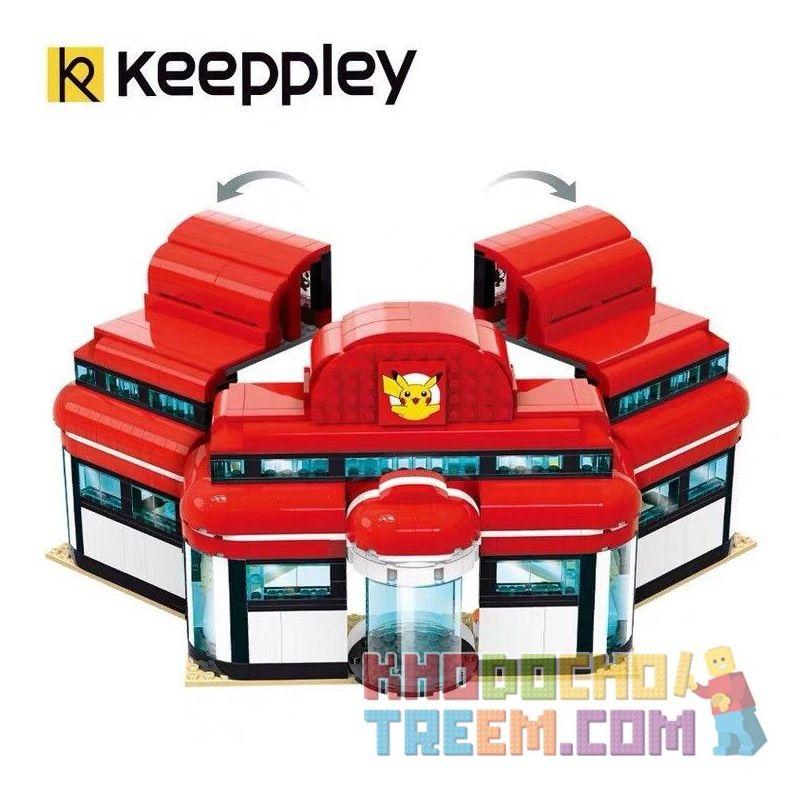 KEEPPLEY K20212 20212 Xếp hình kiểu Mini Blocks POKÉMON Pokemon Treasure Dream Bao Dream Center Trung Tâm Pokémon