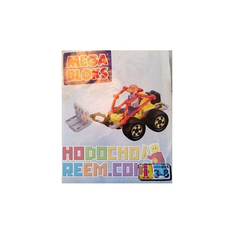 MEGA BLOKS 9134 Xếp hình kiểu Lego CITY Tractor Máy Kéo 30 khối