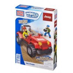 MEGA BLOKS 97803 97831 Xếp hình kiểu Lego CITY Jeep Wrangler Jeep 牧 Xe Jeep. gồm 2 hộp nhỏ 123 khối