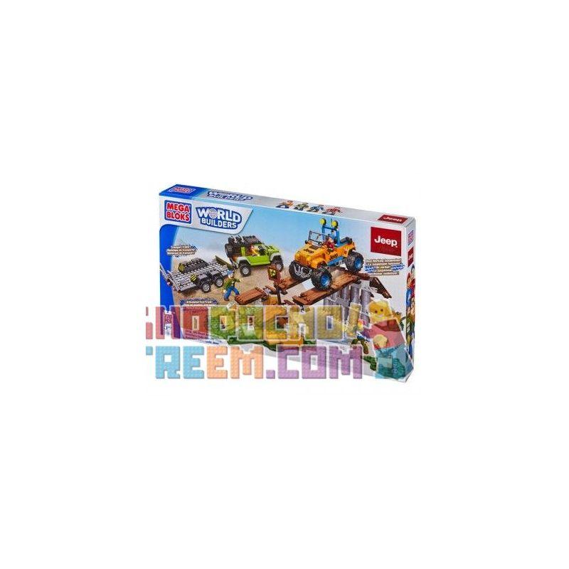 MEGA BLOKS 97804 97832 Xếp hình kiểu Lego CITY Jeep Off-Road Adventure Jeep Cross Country Chuyến Phiêu Lưu địa Hình Bằng Xe Jeep gồm 2 hộp nhỏ 770 khối