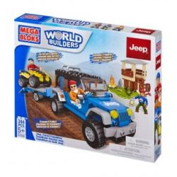 MEGA BLOKS 97806 97834 Xếp hình kiểu Lego CITY Jeep Forest Expedition Jeep Jungle Adventure Jeep Jungle Adventure. gồm 2 hộp nhỏ 344 khối