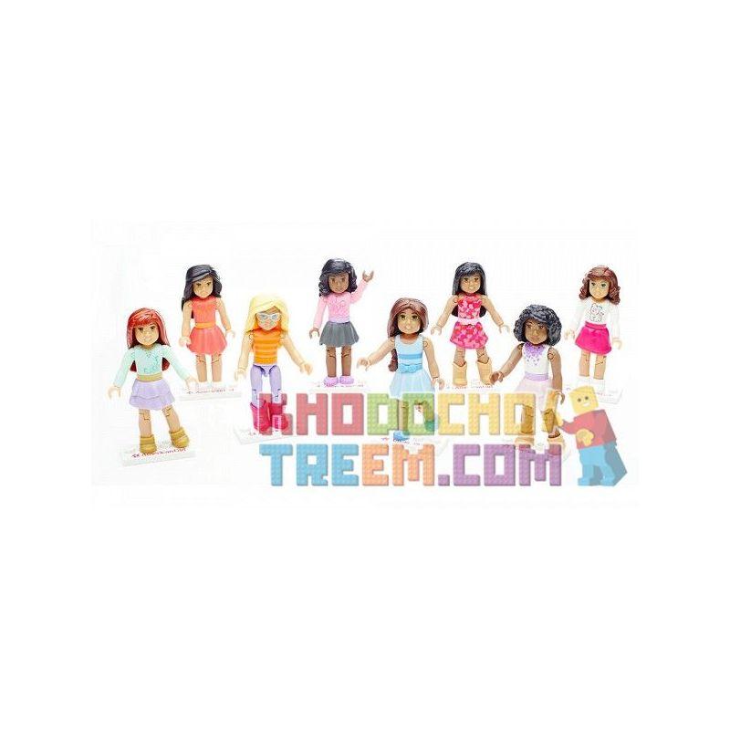 MEGA BLOKS DRC65 Xếp hình kiểu Lego FRIENDS Collectible Figures Assortment Hybrid Minifigure Hỗn Hợp 13 khối