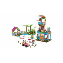 MEGA BLOKS FDY98 Xếp hình kiểu Lego FRIENDS Lea's 2-in-1 Rainforest Sanctuary LEA's Rainforest Protected Area 2 In 1 Khu Bảo Tồn Rừng Nhiệt đới Lea's 2 Trong 1 760 khối