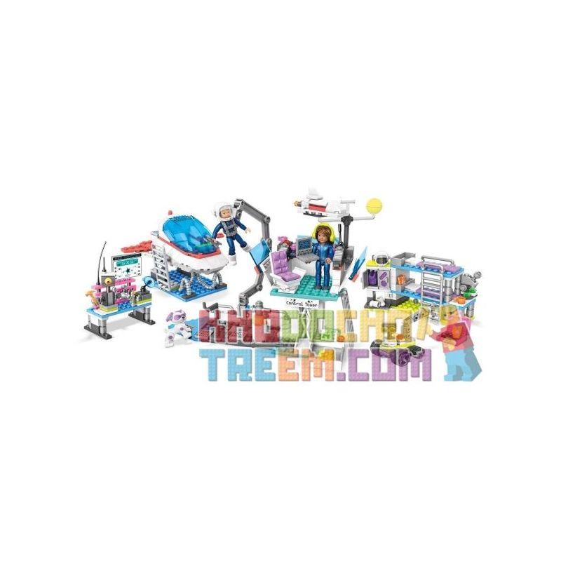 MEGA BLOKS FTY39 Xếp hình kiểu Lego FRIENDS Luciana's Space Camp® Adventures Luciana's Space Summer Camp Adventure Chuyến Phiêu Lưu Trong Trại Hè Không Gian Của Luciana 570 khối
