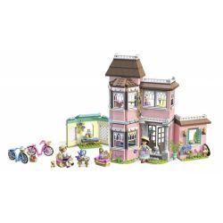 MEGA BLOKS FTY40 Xếp hình kiểu Lego FRIENDS Samantha's Victorian Manor Samantha's Victoria Manor Trang Viên Victoria Của Samantha 890 khối
