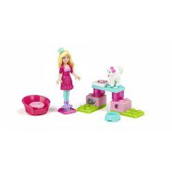MEGA BLOKS 80233 Xếp hình kiểu Lego FRIENDS Kitten Sitter Barbie® Kitten Barbie Mèo Con Barbie. 22 khối