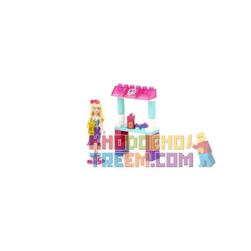 MEGA BLOKS 80234 Xếp hình kiểu Lego FRIENDS Tropical Treats Barbie® Tropical Paragraph Món ăn Nhiệt đới Barbie 28 khối