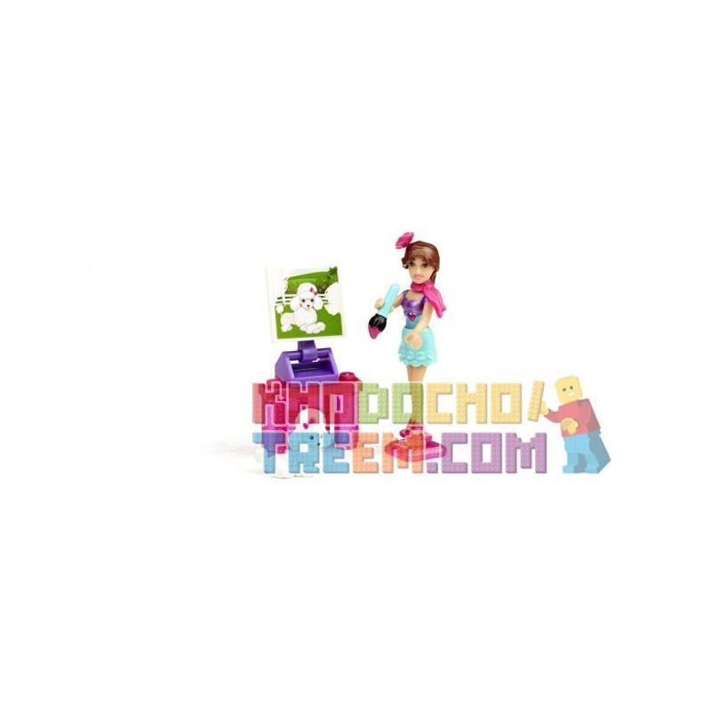 MEGA BLOKS 80237 Xếp hình kiểu Lego FRIENDS Art Teacher Teresa® Art Teacher Barby Cô Giáo Dạy Nghệ Thuật Barbie 20 khối