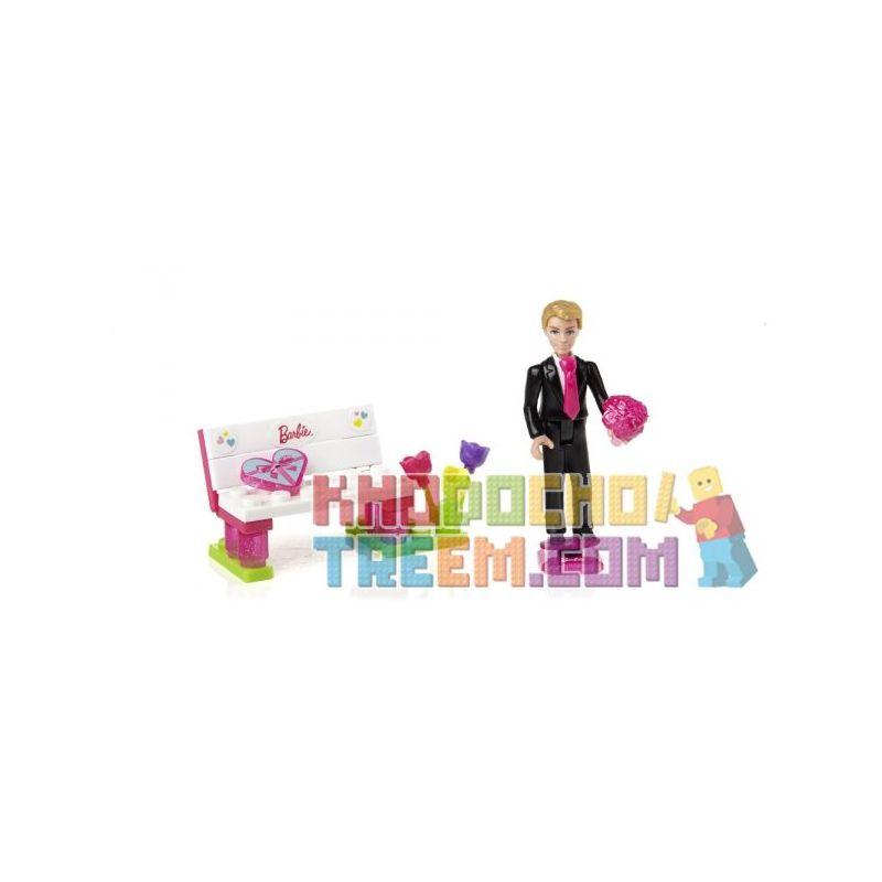 MEGA BLOKS 80239 Xếp hình kiểu Lego FRIENDS I ♥ Ken® I Ken Tôi ♥ Ken 26 khối