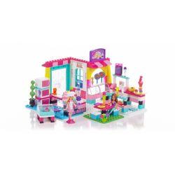 MEGA BLOKS 80249 Xếp hình kiểu Lego FRIENDS Bakery Shop Baked Shop Cửa Hàng Bánh Mì 229 khối
