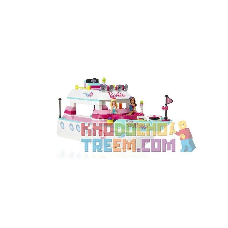 MEGA BLOKS 80253 Xếp hình kiểu Lego FRIENDS Luxury Yacht Luxury Boat Thuyền Sang Trọng 284 khối