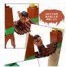 Hystoys Hongyuansheng Aoleduotoys HG-1269 (NOT Lego Duplo 5598 Dino Valley ) Xếp hình Thung Lũng Khủng Long 52 khối