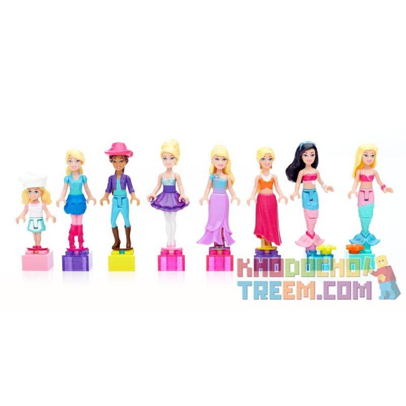 MEGA BLOKS 80260 Xếp hình kiểu Lego FRIENDS Mini Fashion Figures Búp Bê Thời Trang Mini