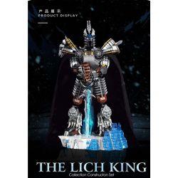 SUPER 18K K83 Xếp hình kiểu Lego GAMES The Lich King Arthas World Of Warcraft Lich King Alsace Lich King Alsace. 1680 khối