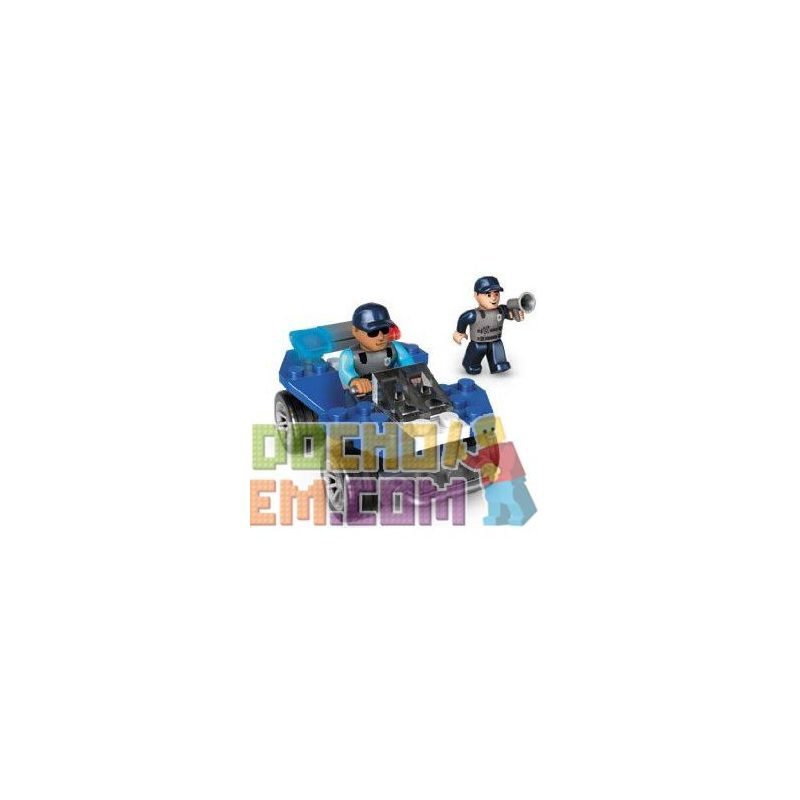 MEGA BLOKS 223 Xếp hình kiểu Lego CITY Police ATV Xe địa Hình Cảnh Sát 47 khối