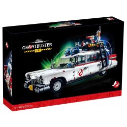 BLANK 50016 81018 JOKER 81002 Xếp hình kiểu Lego CREATOR EXPERT Ghostbusters ECTO-1 Ghosts, Death, Squatters, ECTO-1 Ghostbusters ECTO-1 2352 khối