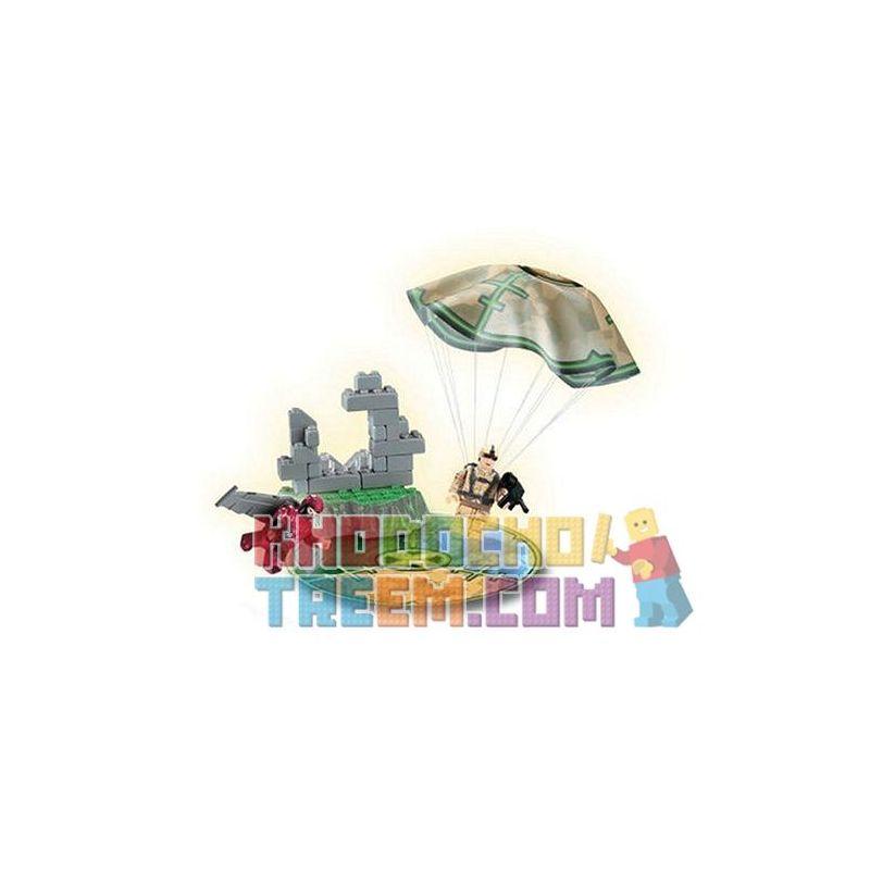 MEGA BLOKS 5503 Xếp hình kiểu Lego Cellular Capture Giam Giữ Trong Xà Lim 35 khối